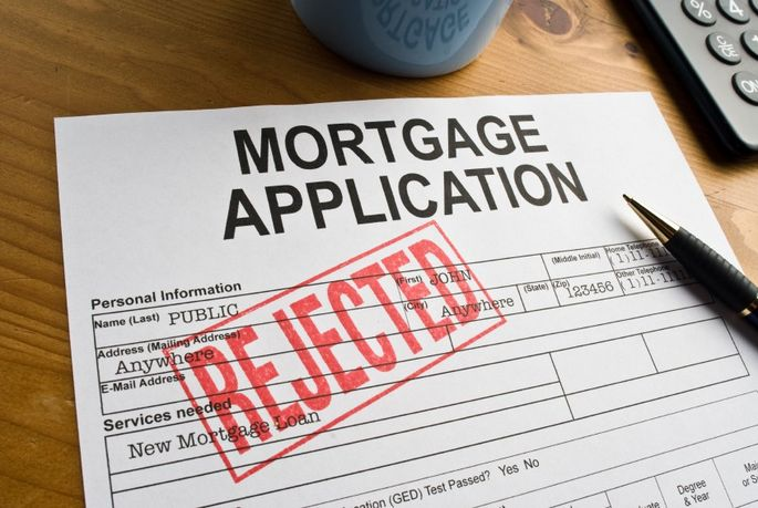 issues with mortgage application
