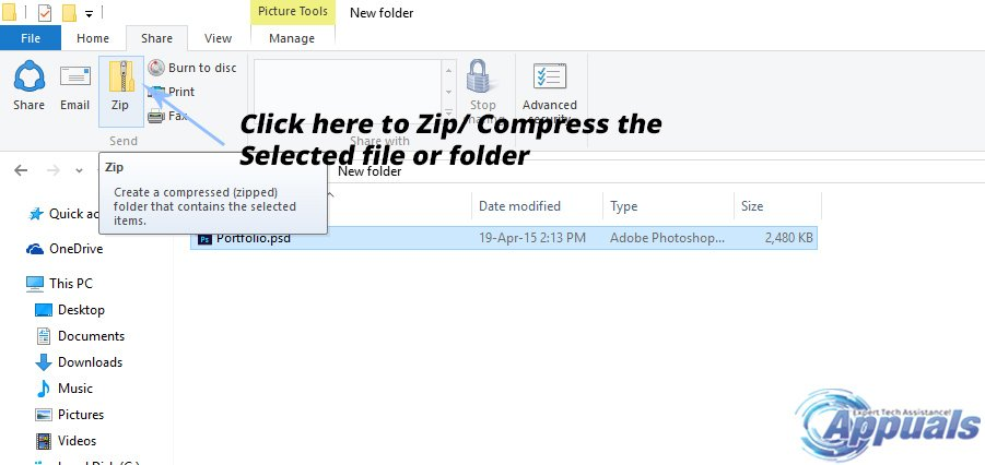how to compress pdf file on windows 10