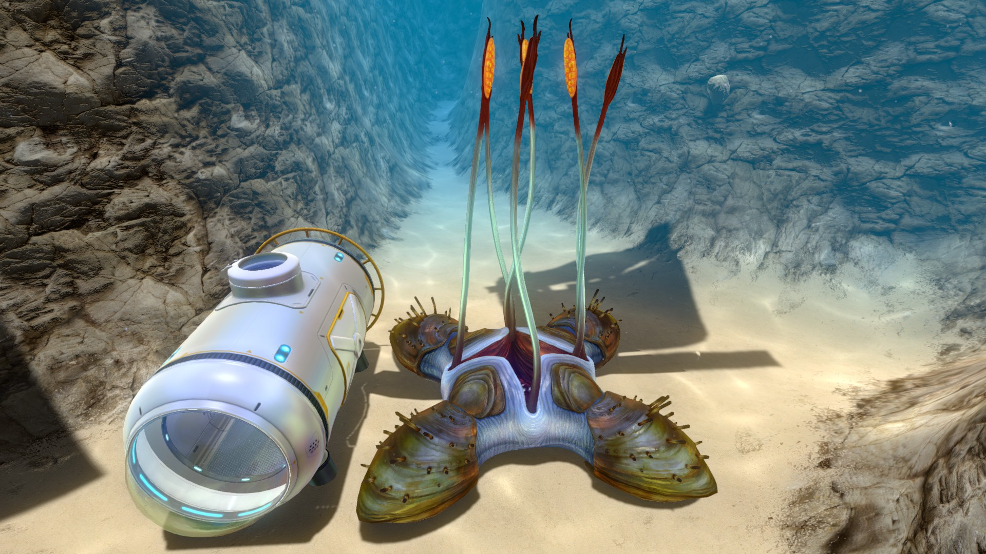how do i use sample analyser in subnautica