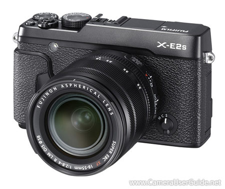 fujifilm x e2s manual