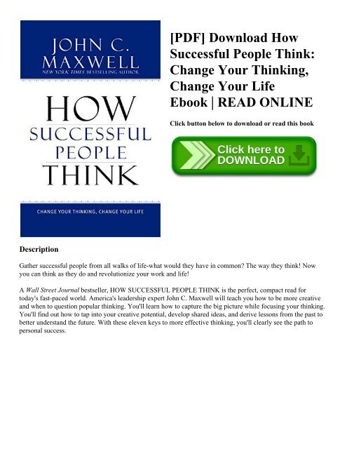 how to change your life pdf download