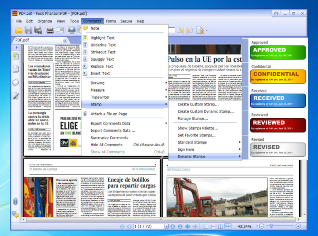 foxit advanced pdf editor how to save as pdf