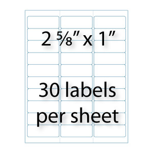 how to print avery 5160 labels from pdf