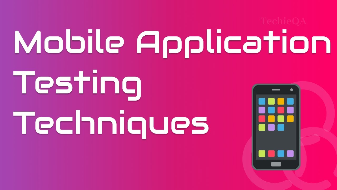 i want to make a mobile application from scratch
