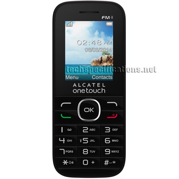 instructions for alcatel one touch mobile phone
